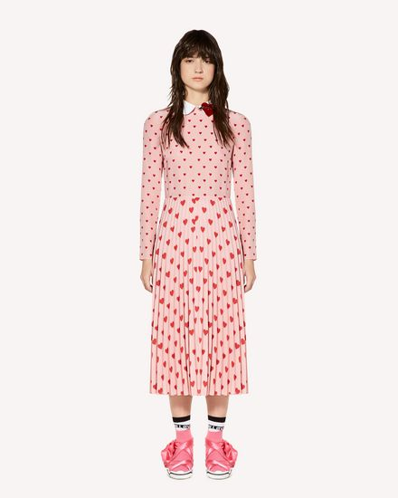 REDValentino Long and midi dresses Woman SR3VAF254AH 517 f