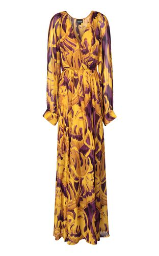 "JUST CAVALLI Abito Donna Abito lungo stampa ""Jungle Deco'"" f"