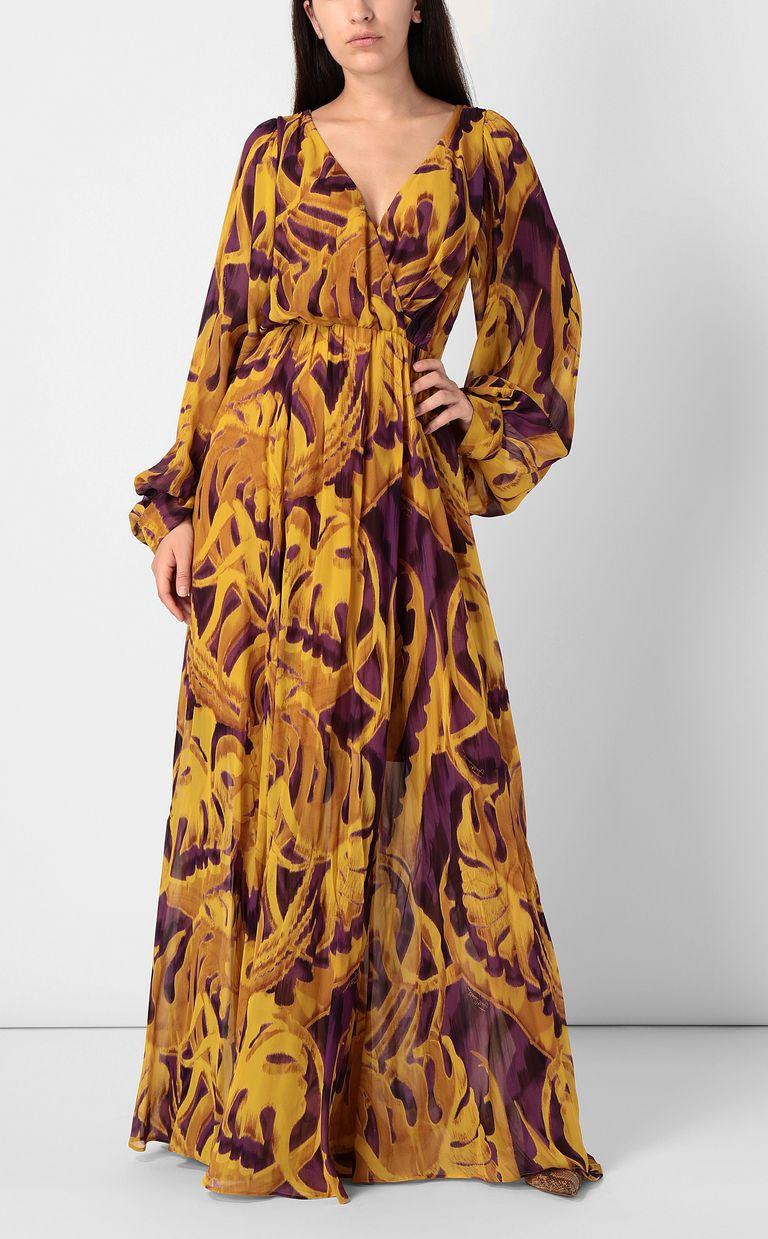 "JUST CAVALLI Full-length ""Jungle-Deco'"" dress Dress Woman r"