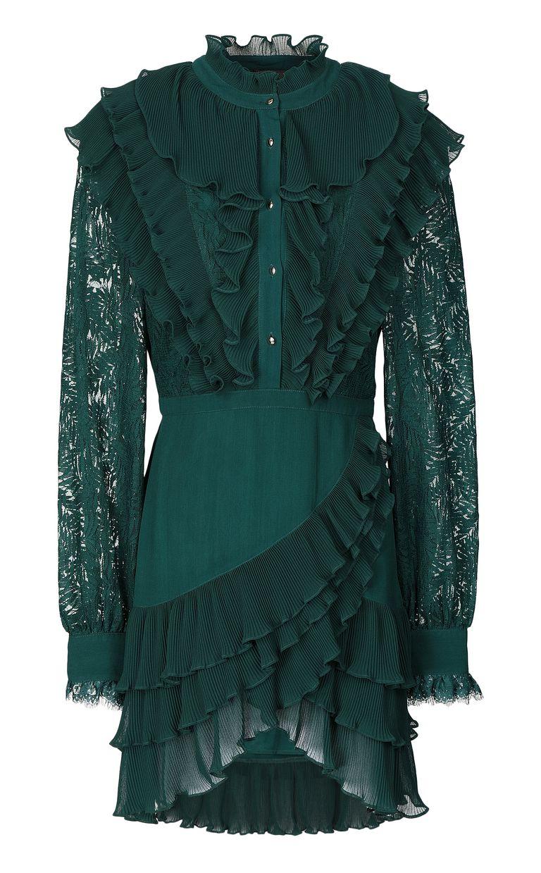 JUST CAVALLI Short lace dress Dress Woman f
