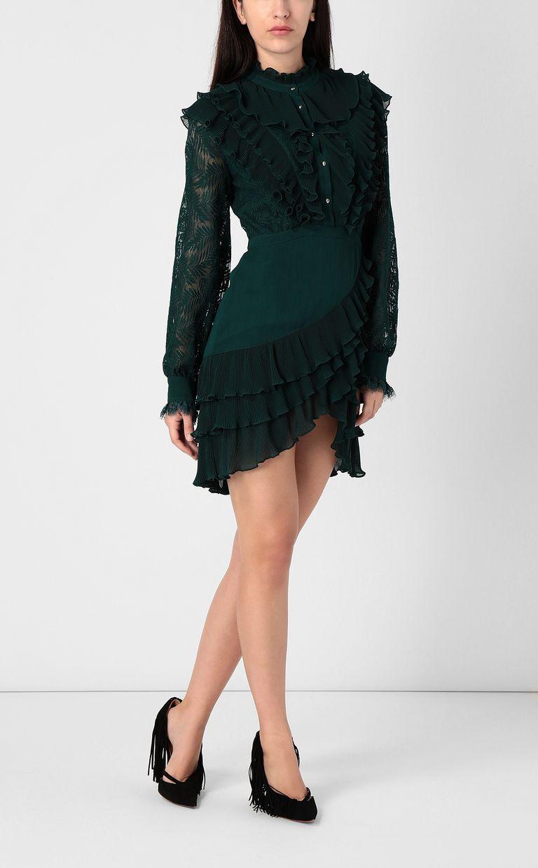 JUST CAVALLI Short lace dress Dress Woman r