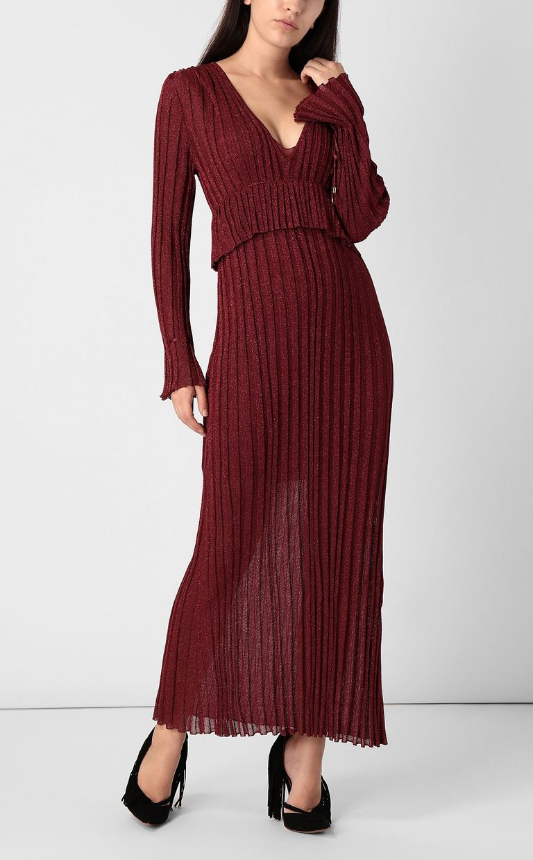 JUST CAVALLI Long dress in lurex Dress Woman d