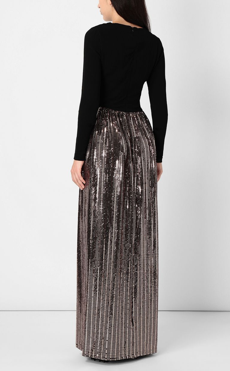 JUST CAVALLI Full-length dress with spangles Dress Woman a