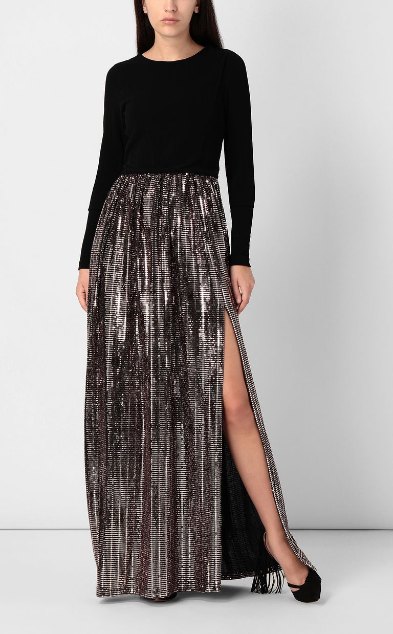 JUST CAVALLI Full-length dress with spangles Dress Woman d