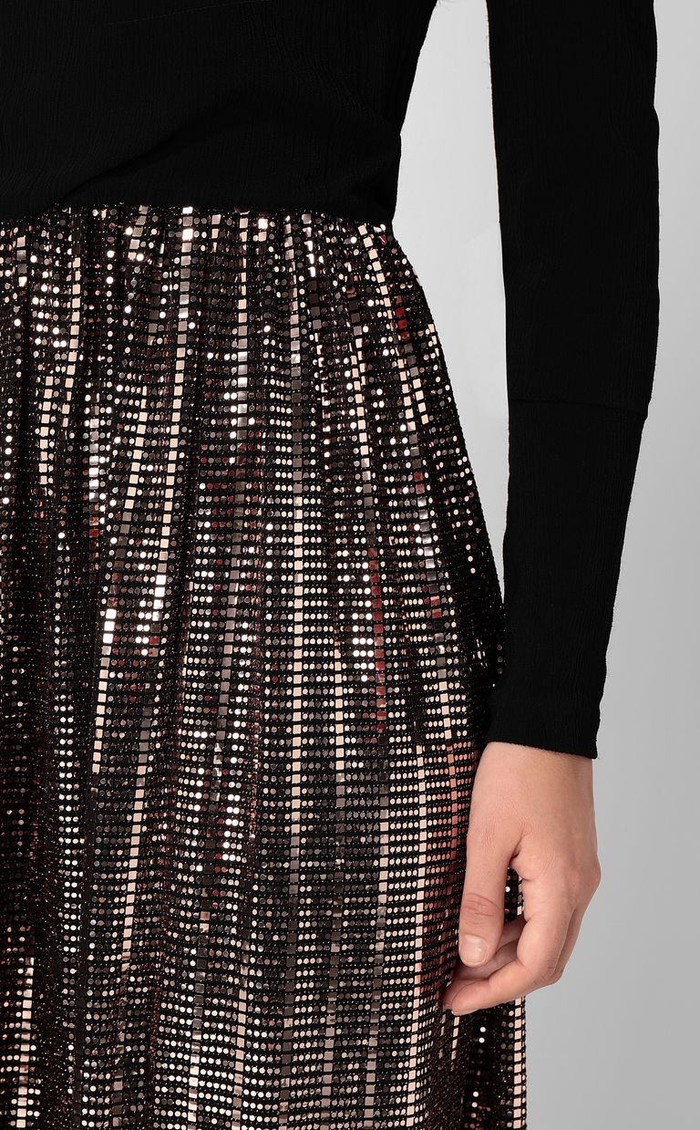 JUST CAVALLI Full-length dress with spangles Dress Woman e