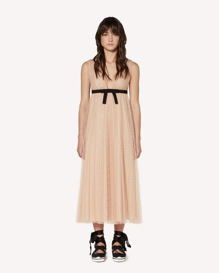REDValentino Long and midi dresses Woman SR3VAF65428 N17 f