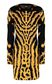 JUST CAVALLI Short zebra- &-leopard-print dress Dress Woman f