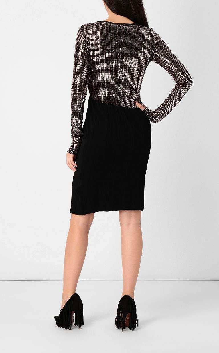JUST CAVALLI Dress with spangles Dress Woman a
