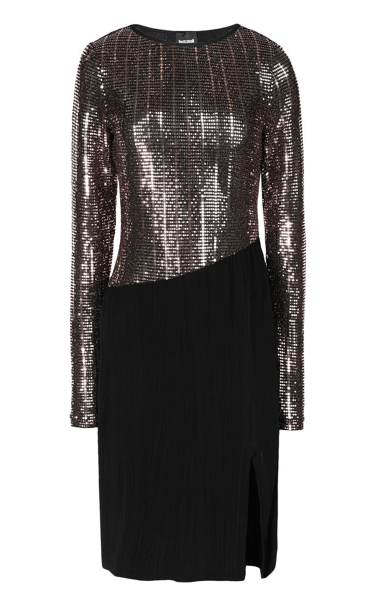 JUST CAVALLI Dress with spangles Dress Woman f