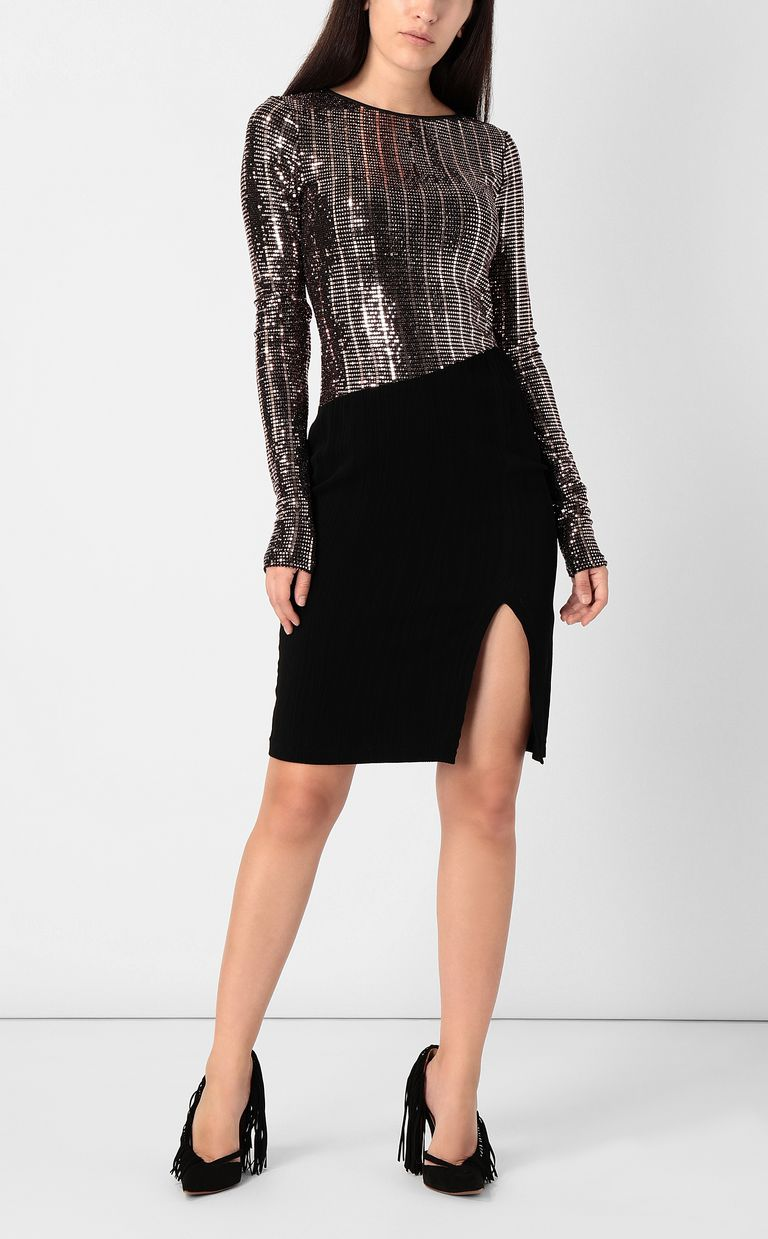 JUST CAVALLI Dress with spangles Dress Woman r