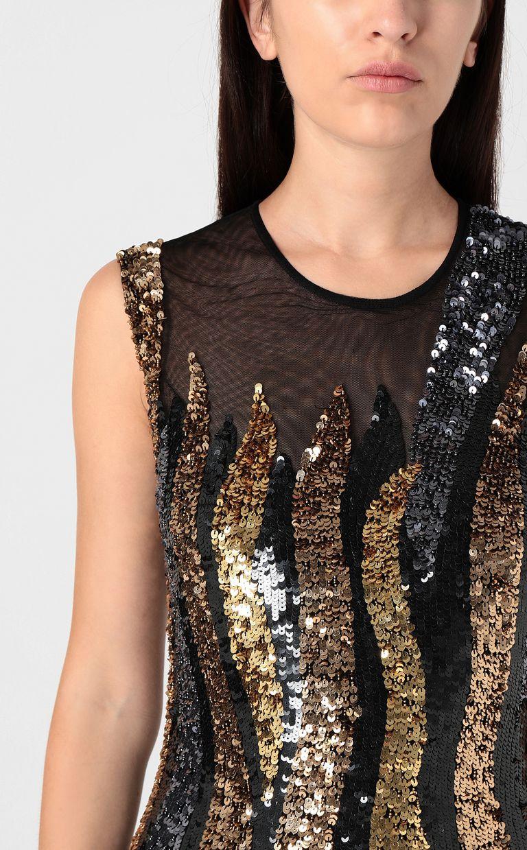 JUST CAVALLI Mini dress with sequins Dress Woman e