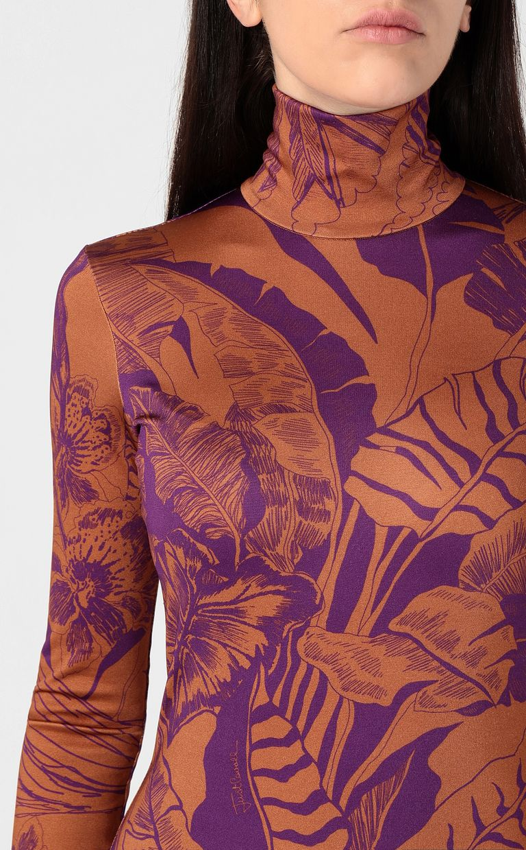 "JUST CAVALLI ""Polynesian-Jungle"" print dress Dress Woman e"