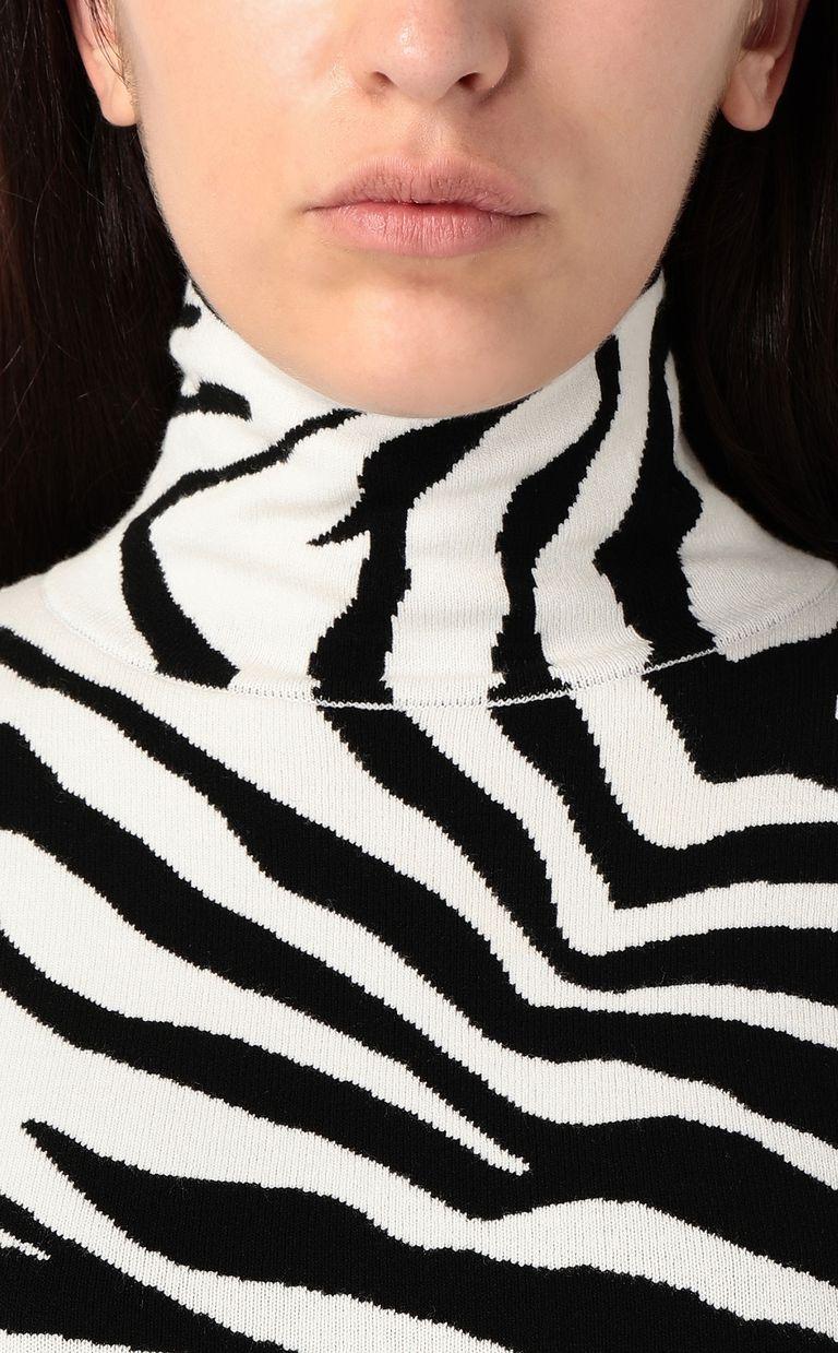 JUST CAVALLI Dress with zebra-stripe print Dress Woman e