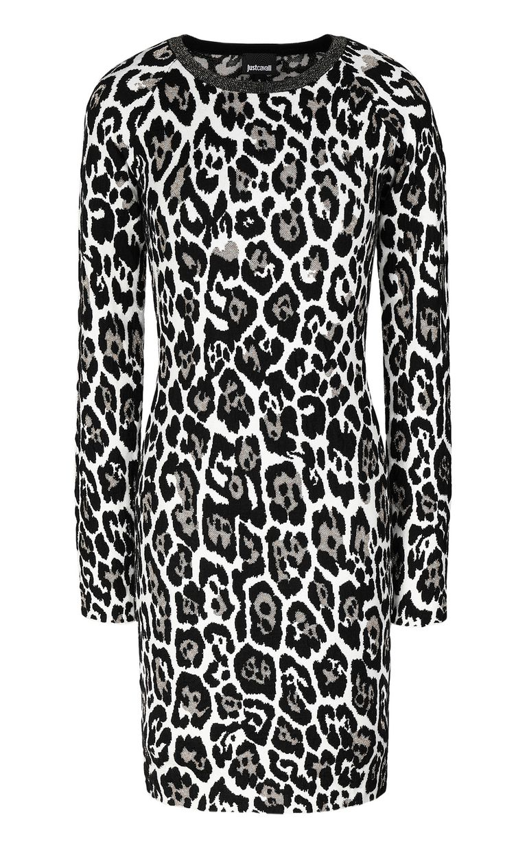 JUST CAVALLI Leopard-spot dress Dress Woman f