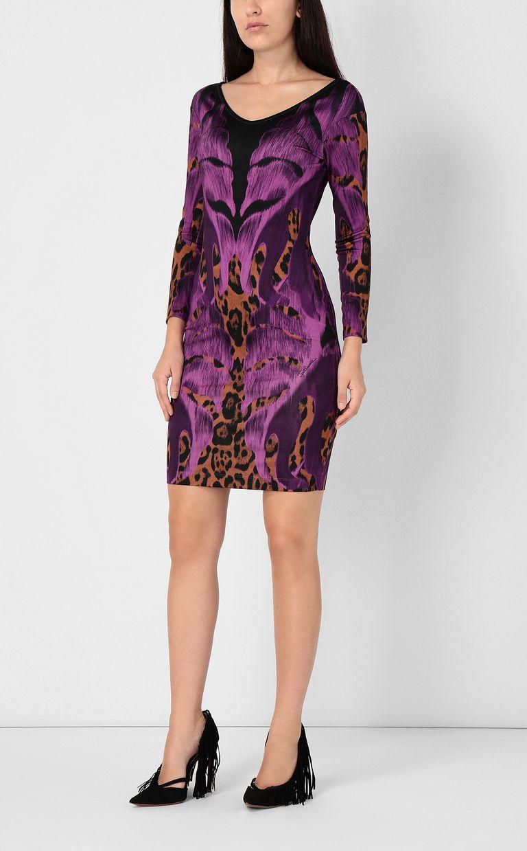 """JUST CAVALLI """"Jungle-Deco'""""-print dress Dress Woman r"""