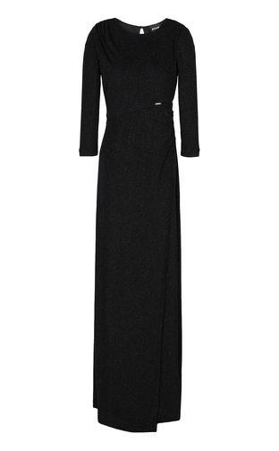 JUST CAVALLI Dress Woman Elegant velvet dress f