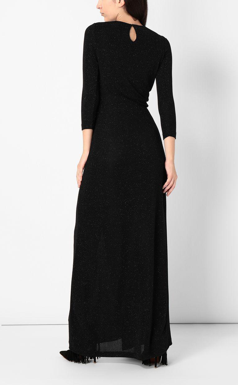 JUST CAVALLI Long dress in lurex Dress Woman a