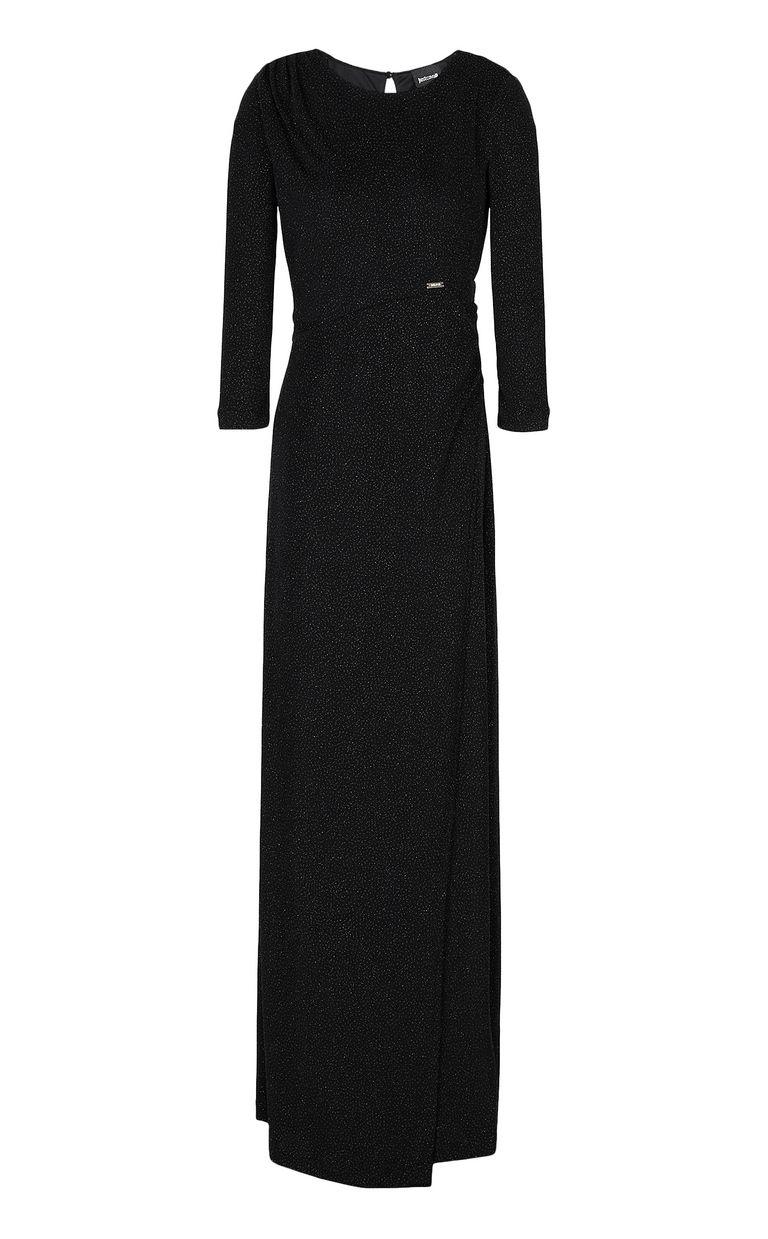 JUST CAVALLI Long dress in lurex Dress Woman f