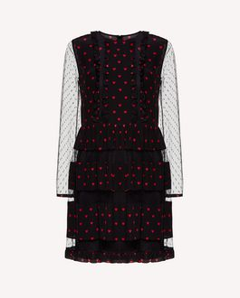 REDValentino Short dress Woman SR3VAI45497 0NO a