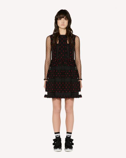 REDValentino Short dress Woman SR3VAG304AJ 0NO f