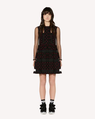 REDValentino SR3VAG304AJ 0NO Short dress Woman f