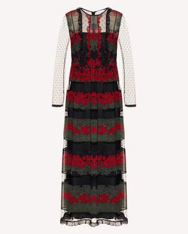 REDValentino Long and midi dresses Woman SR3VA03U4CF 0NO a