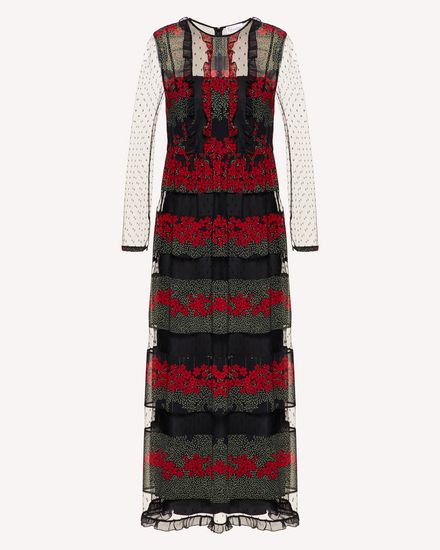 REDValentino Long and midi dresses Woman SR3VAG344AR 0NO a
