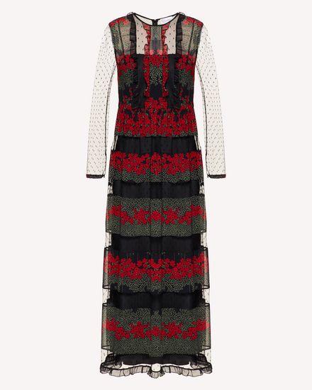 REDValentino Длинное платье Для Женщин SR3VAG344AR 0NO a