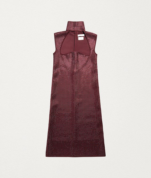 BOTTEGA VENETA DRESS IN EMBELLISHED KNIT VISCOSE Dress Woman fp