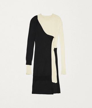 DRESS IN MOHAIR AND VISCOSE