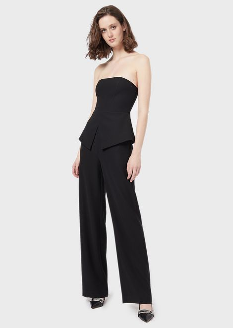Jumpsuit with bodice and basque