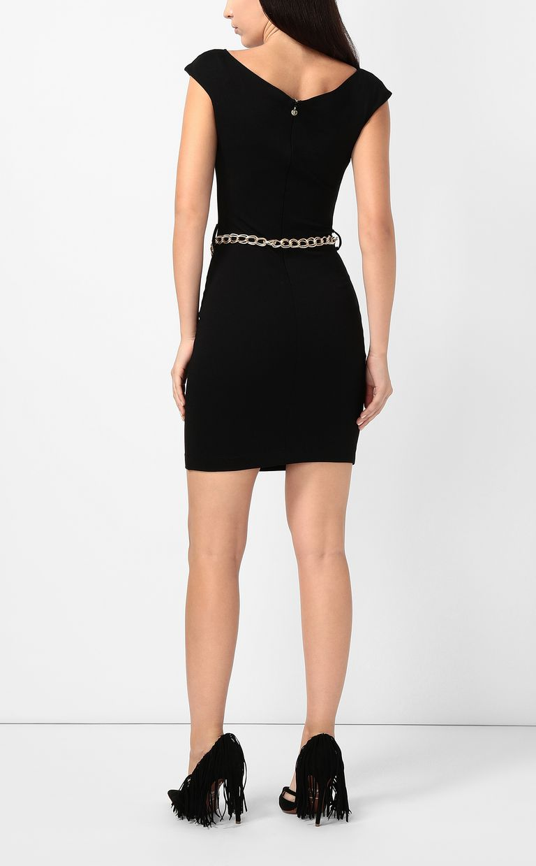 JUST CAVALLI Dress with chain Short dress Woman a