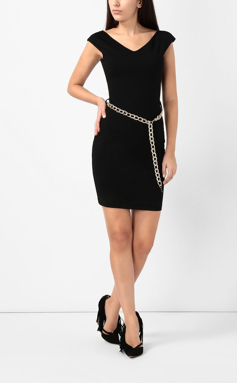 JUST CAVALLI Dress with chain Short dress Woman d