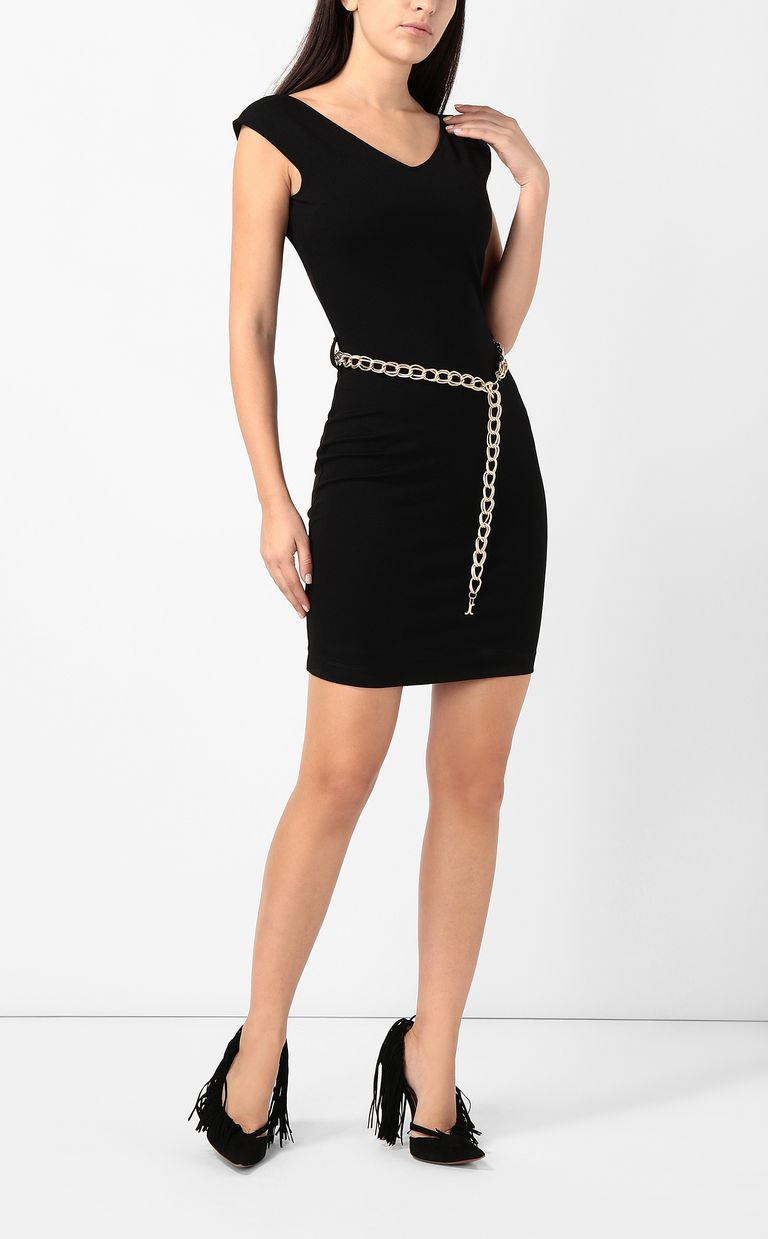 JUST CAVALLI Dress with chain Short dress Woman r