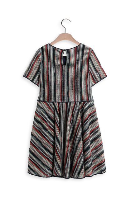 MISSONI KIDS Dress Dark blue Woman - Front