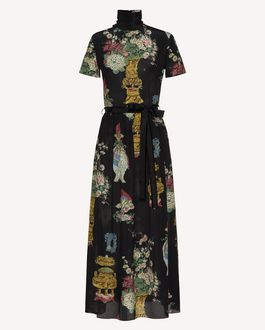 REDValentino Long and midi dresses Woman SR0VAI354HP 0NO a