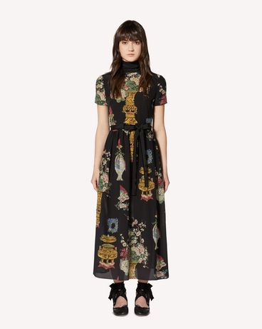 REDValentino SR0VAI354HP 0NO Long and midi dresses Woman f