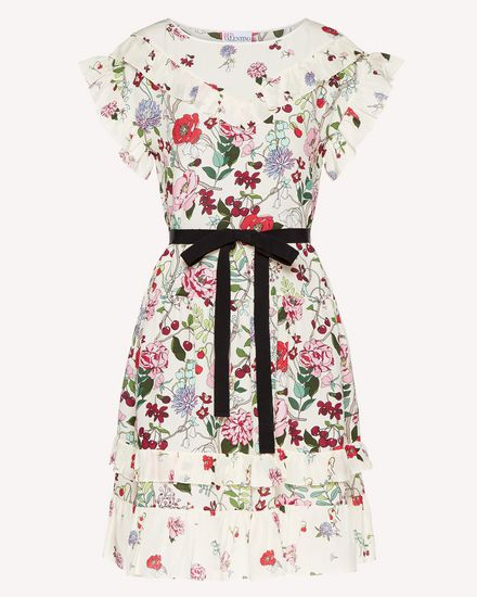REDValentino Long dress Woman SR3VAG404AM 031 a