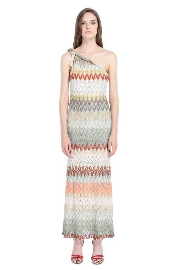 MISSONI Langes Kleid Damen, Frontansicht