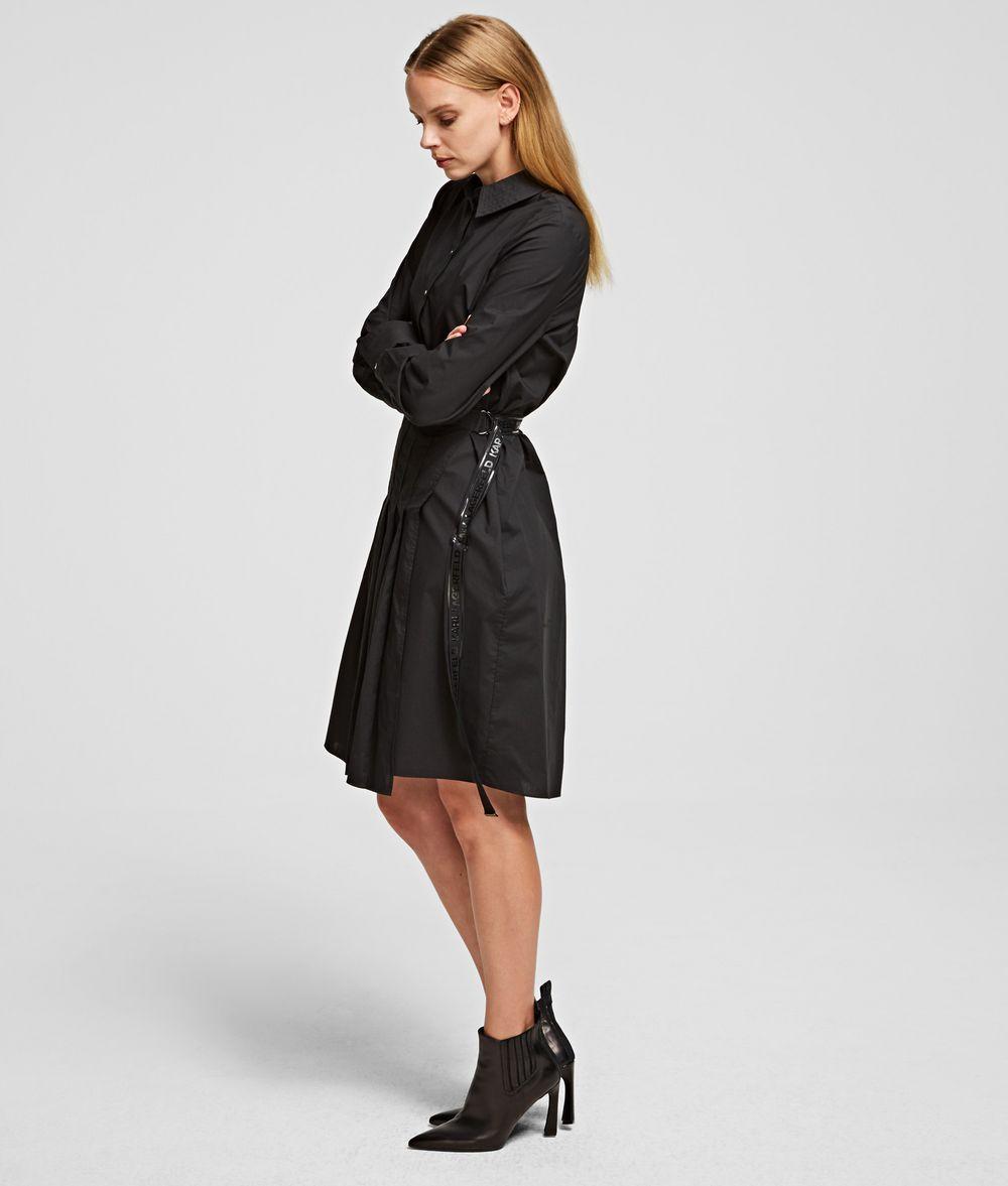 KARL LAGERFELD Poplin Shirt Dress Dress Woman d