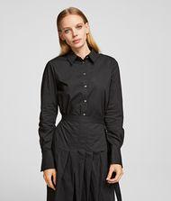 KARL LAGERFELD Poplin Shirt Dress 9_f