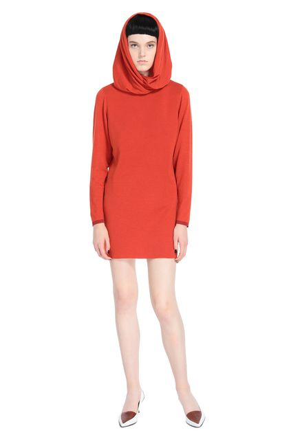 MISSONI Minidress Brick red Woman - Back