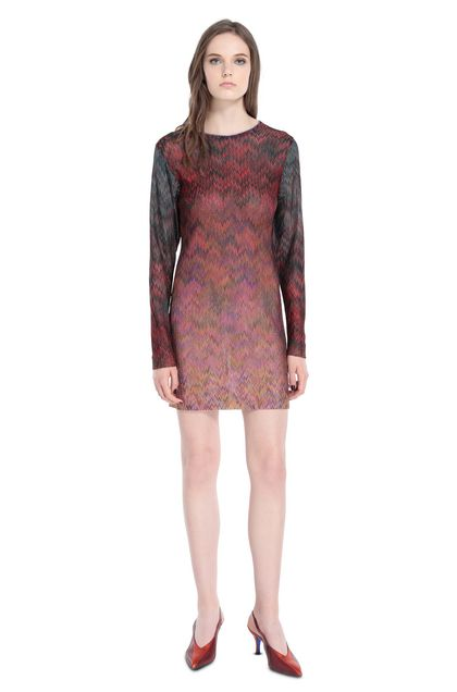 MISSONI Dress Red Woman - Back