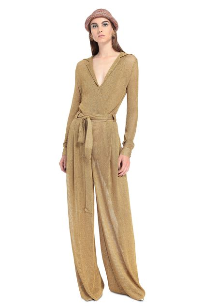 MISSONI Jumpsuit Gold Woman - Back