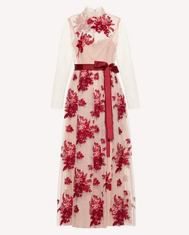 REDValentino Long dress Woman SR0VAI20428 0NO a