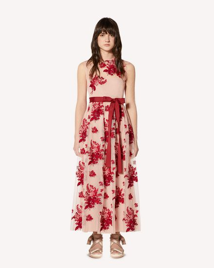 REDValentino Printed dress Woman SR0VA03Z4KM PE0 f