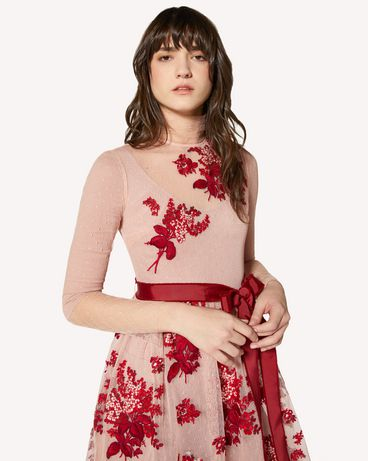 REDValentino SR0VA03Z4KM PE0 Long and midi dresses Woman e