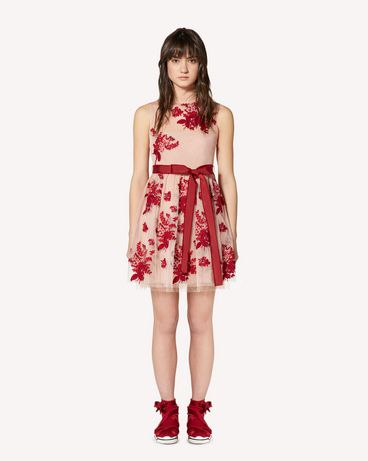 REDValentino SR0VA05B4KM PE0 Short dress Woman f