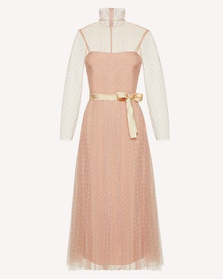 REDValentino Long and midi dresses Woman SR0VAI20428 KS0 a