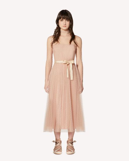 REDValentino Long and midi dresses Woman SR0VAI20428 KS0 f